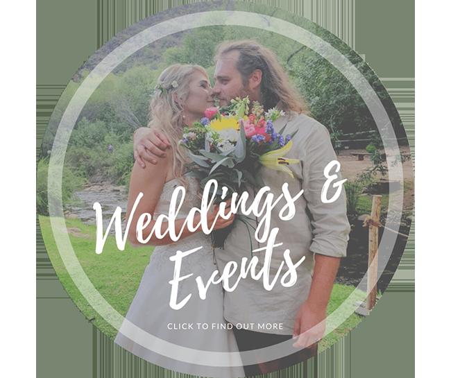 Weddings and Events @ Cango Retreat in Oudtshoorn